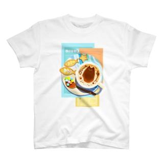 ビンロウとカプチーノ(リーフレット) T-shirts