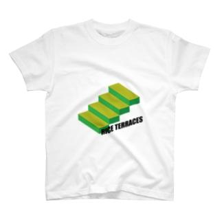 #62 「rice terraces」~横瀬町~ T-shirts