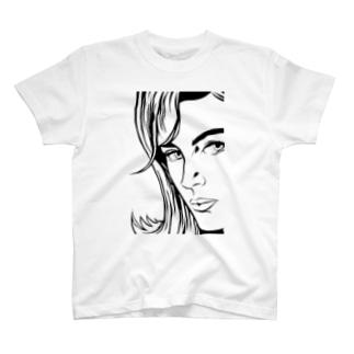 コミックウーマン T-shirts