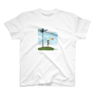 風船 T-shirts