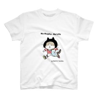 ラグビーねこ T-shirts