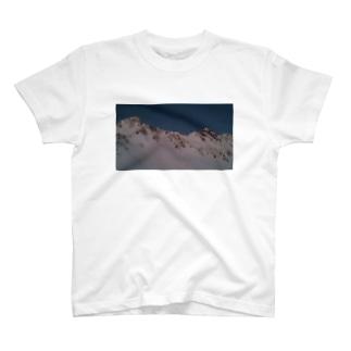 冬の宝剣岳 T-shirts