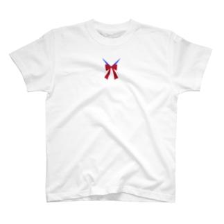 おしゃれなリボン/Stylish ribbon T-shirts