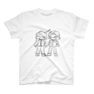 鈴木と早乙女 T-shirts