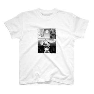 母を戀ふる記_月の涙バージョン T-shirts