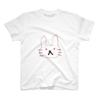 不機嫌うさてぃーしゃつ T-shirts