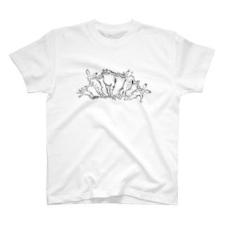 GIGA OUGI T-shirts