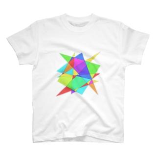 スタッツ・ステンドグラス T-shirts