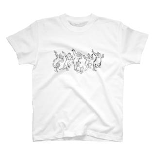 HOUSOのGIGA DANCE T-Shirt