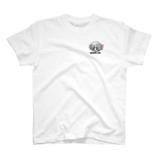 Cheerful girl T-shirts