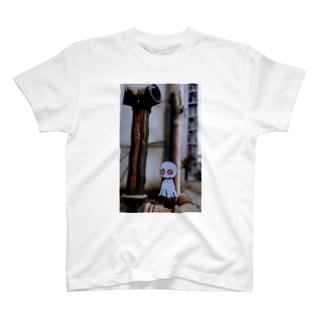 てるてるくんと送水口 T-shirts