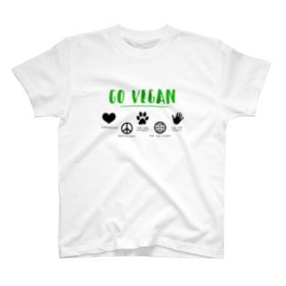 GO VEGAN T-shirts