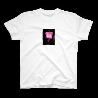 mengenyのロケ地のスナックの看板 T-shirts