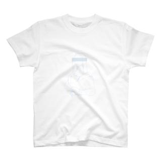 モナ・リザ(白) T-shirts