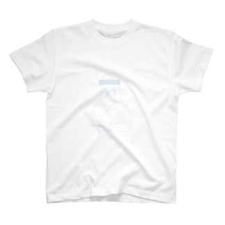 萩原商店街のモナ・リザ(白) T-shirts