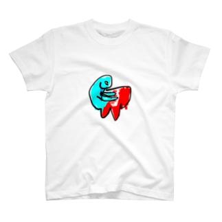 ぴあのをひくひと T-shirts