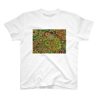 カラフルズ サイケデリック01 T-shirts