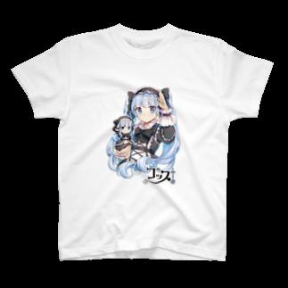 オリジナル雑貨店『ホットドッグ』のゴスロリ「ゴッス!」Tシャツ T-shirts