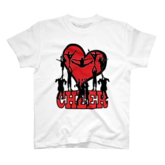 Heart Cheer 16 T-shirts
