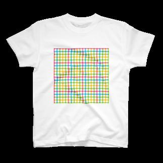やまももショップ(2号店)のカラーライン T-shirts