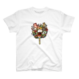 点心熊手 T-shirts