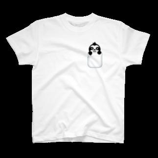 urastationのポケットなまけものくんTシャツ T-shirts