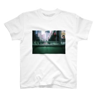 SIBUYA pedestrian overpass 渋谷 歩道橋 T-shirts