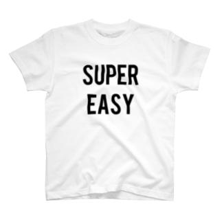 SUPER EASY (Big One) T-shirts