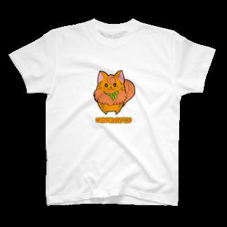 にゃんこグッズ●佐藤家の[フルーツ猫シリーズ]みかん猫のマンダリン・背景なしver. T-shirts