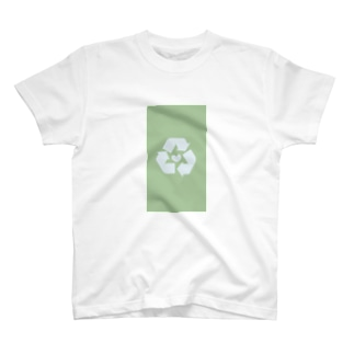 愛も体もリサイクル T-shirts