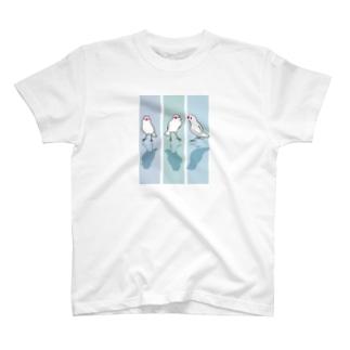 冬文鳥 T-shirts