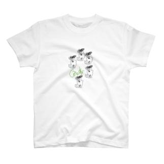 このゆびとまろ T-shirts