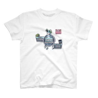 PICOLD:YUMMY→MINT CHOCOLATE CHIP  T-shirts