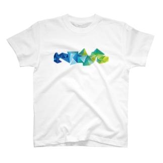 立体的な模様を胸に。 T-shirts