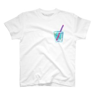 ただの炭酸水 T-shirts
