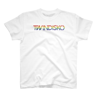 South ParlorのTWINDISKO RAINBOW T-shirts