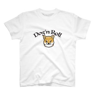 Dog'n Roll 赤柴 T-shirts