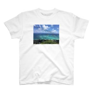 ハワイ カイルアの絶景 T-shirts