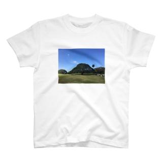 ハワイ モンキーポッド T-shirts