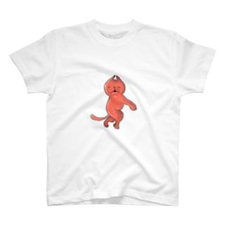 赤い何か T-shirts