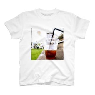 ice coffee T-shirts