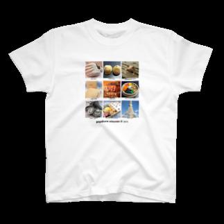 ペパクラおとうさんの©pepakura otousan T-shirts