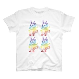龍ちゃん・龍体文字【てち】 T-shirts