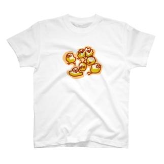 ちょぴ 鳥さんみたいなイキモノ T-shirts