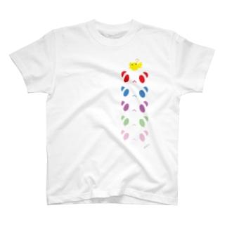 ぱんだ+ぴょ。 T-shirts