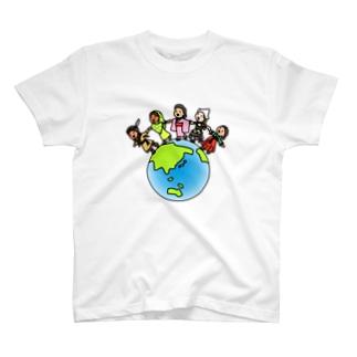 nakayoku T-shirts