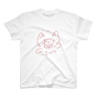 ぴんくちゃん。(てんし) T-shirts