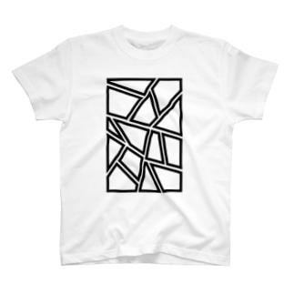 コマ割り T-shirts