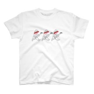 三連符 T-shirts