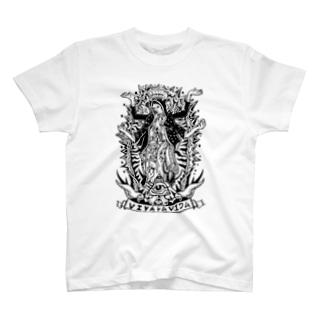 マリ阿修羅Tシャツ T-shirts